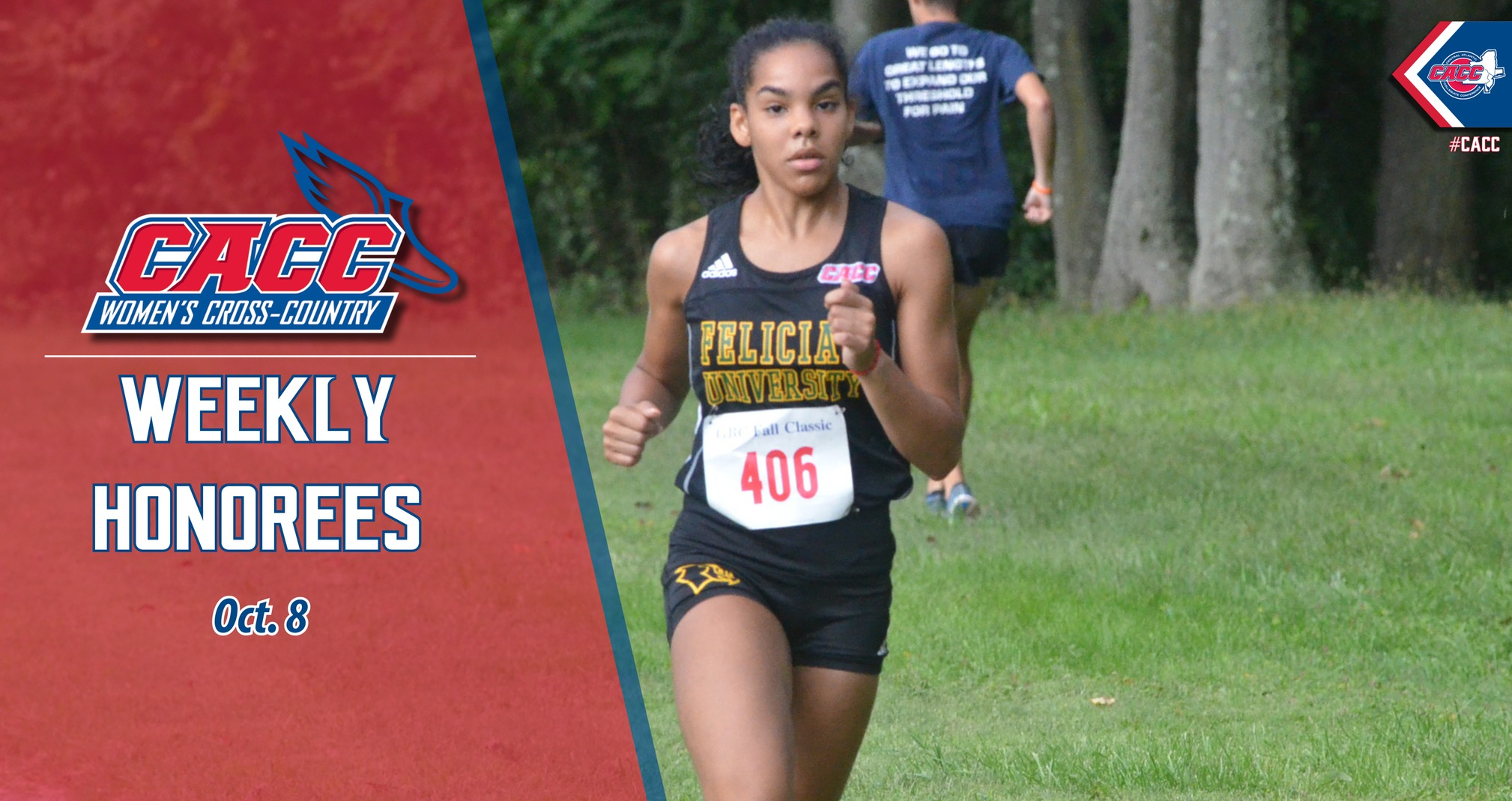 CACC Women's Cross Country Weekly Honorees (Oct. 8)