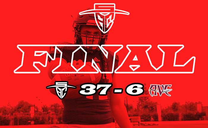 Dons Pull Away from AVC to Pick Up First Win, 37-6