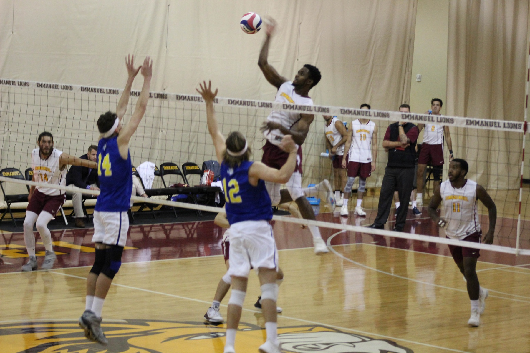 Men's Volleyball Falls to Conference Foe Limestone