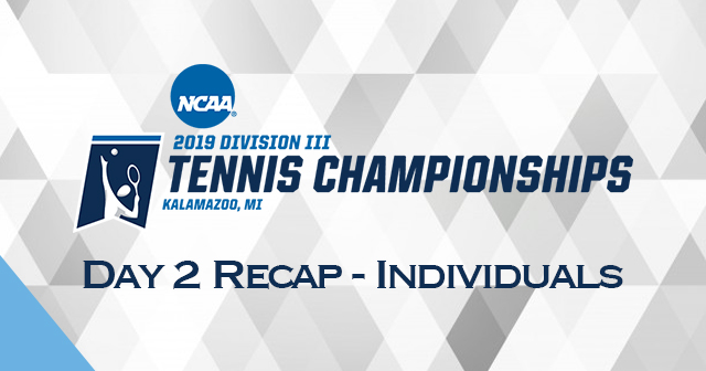 NCAA Men's and Women's Tennis Individual Championships - Day 2 Recap