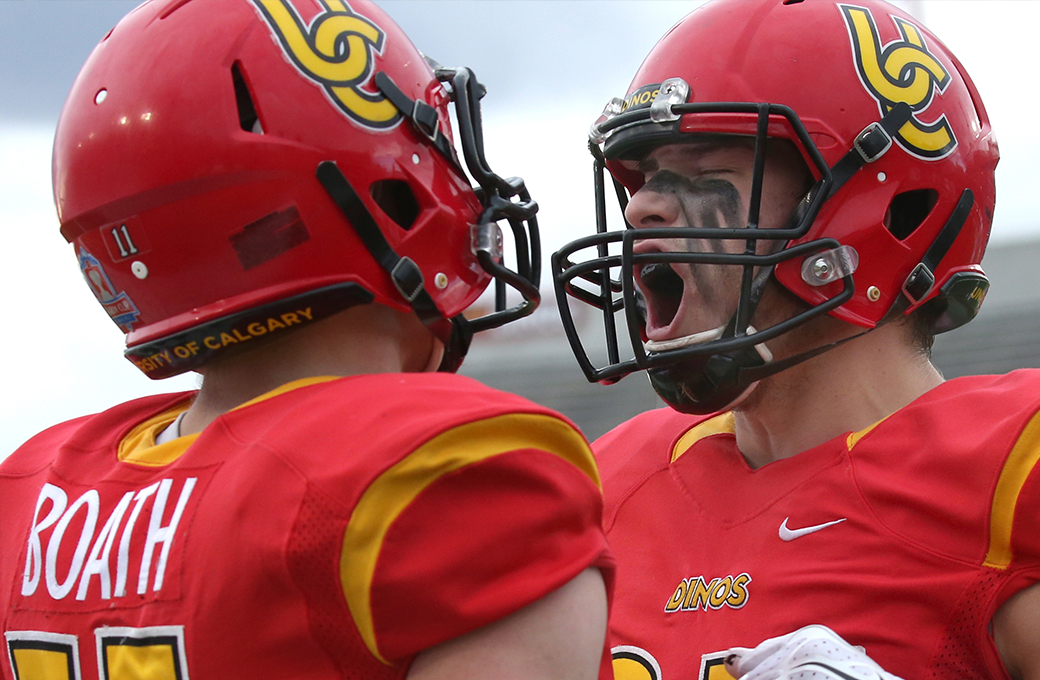Calgary Dinos ready to forget the past