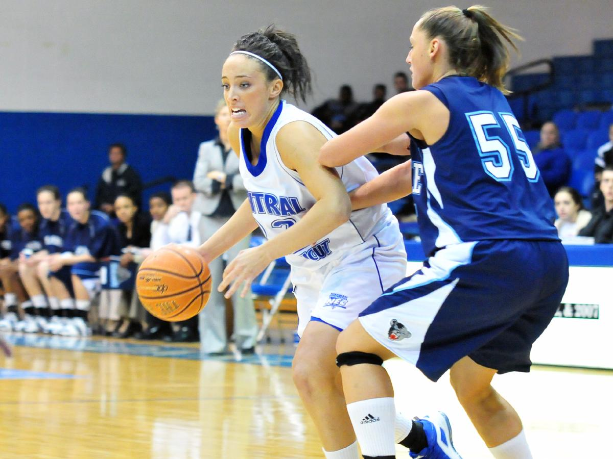 CCSU Posts Largest Margin of Victory Versus NEC Foe in 10 Seasons, Defeats Mount St. Mary's 66-41