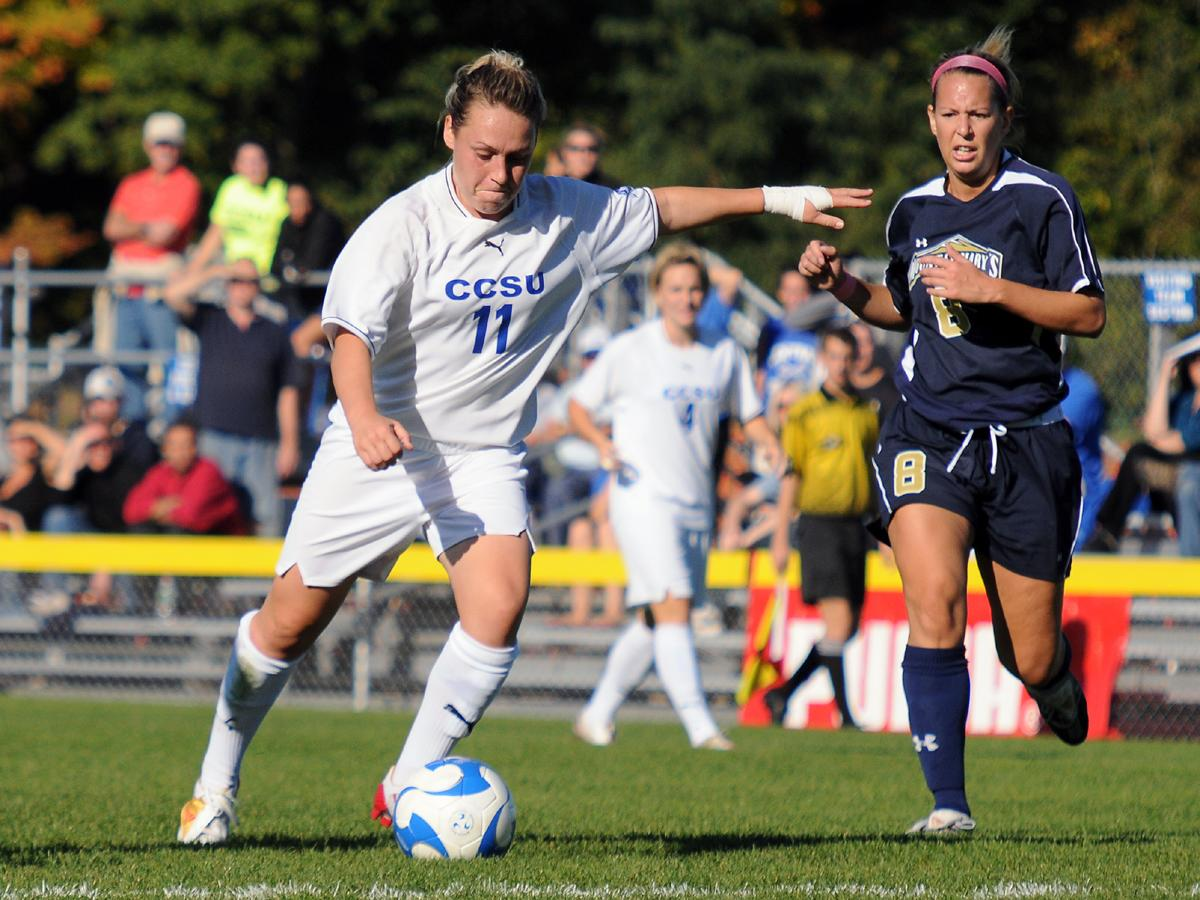 CCSU Women's Soccer Season Comes to an End in NCAA Tournament