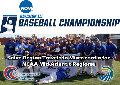 Salve Regina Travels to Misericordia for NCAA Mid-Atlantic Regional