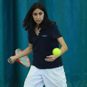 Tennis Splits Saturday Action Against Camels and Engineers
