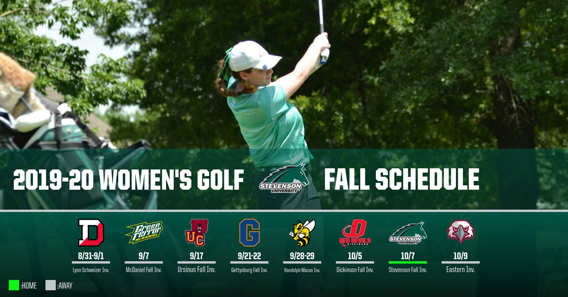 Women's Golf Set To Tee Off Eight Times This Fall