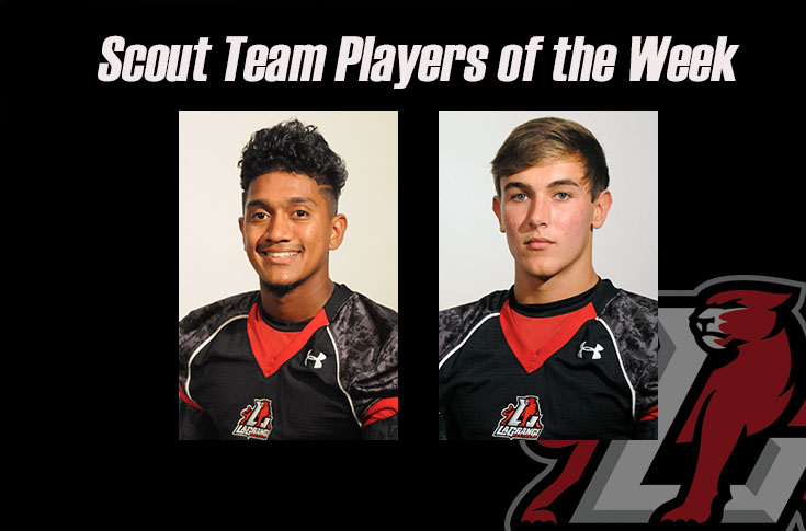Football: Robert Allen, Tyler MacCartee named Scout Team Players of the Week