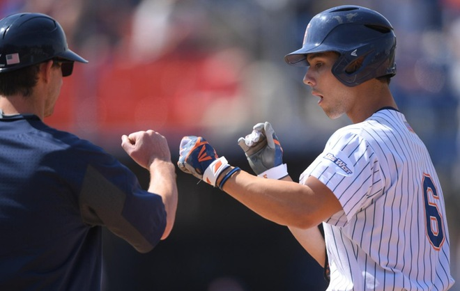 Five Home Runs Power Fullerton Past Santa Barbara to Claim Series on Sunday