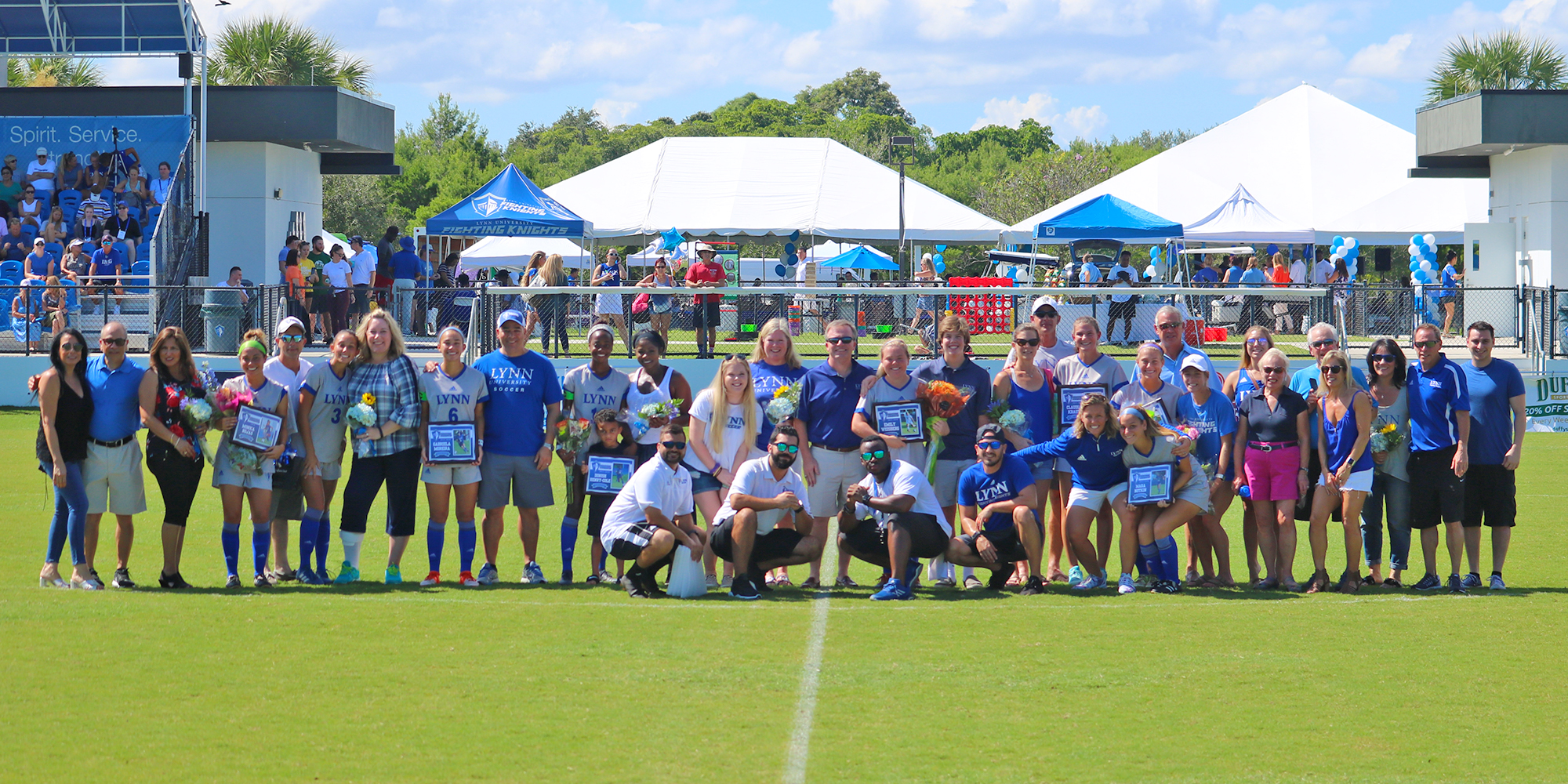 Women's Soccer Draws with Florida National