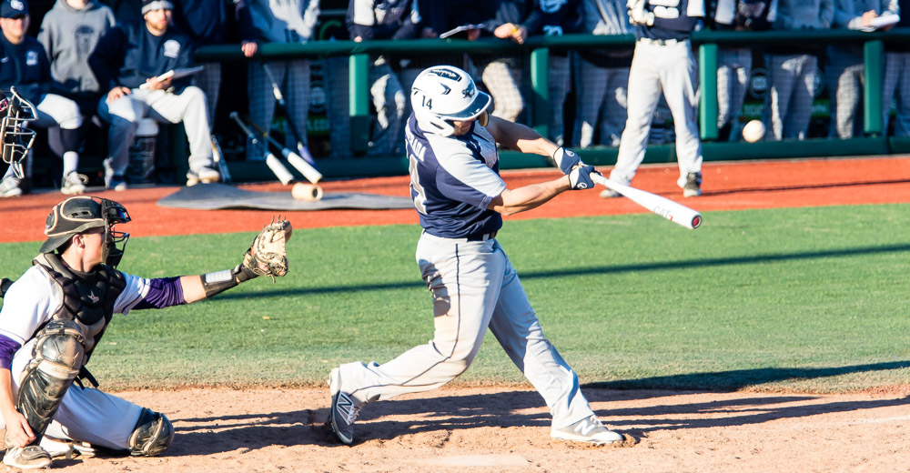 Michael Camerada (3-for-4, 2 R, 2B, 3B) drove a ball off the left field wall in the 9th that nearly tied the game.