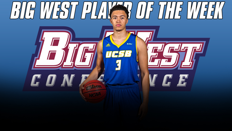 McLaughlin Named Big West Player of the Week After Helping UCSB to Pair of Wins