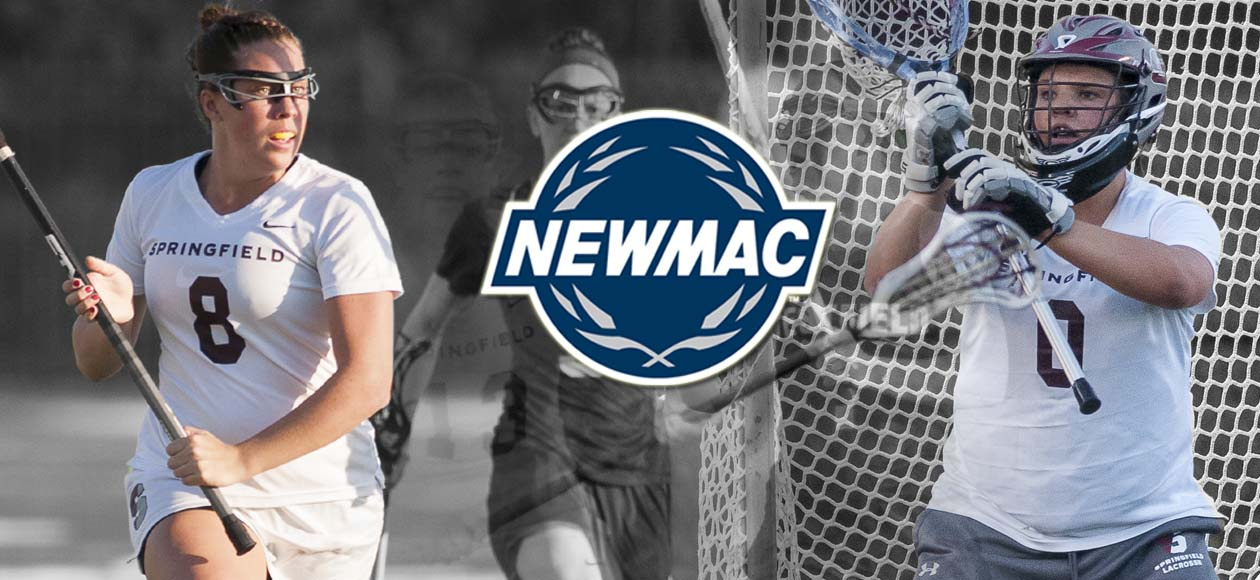 Corsano and Anderson Sweep NEWMAC Women's Lacrosse Weekly Honors; Anderson Recognized by ECAC