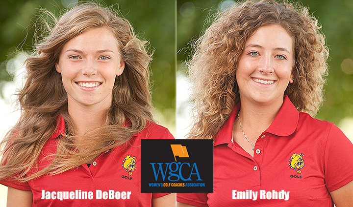 Two Ferris State Golfers Earn All-America Scholar Honors For Third Consecutive Year
