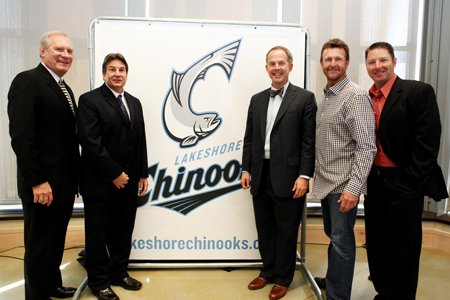 Lakeshore Chinooks announced during press conference