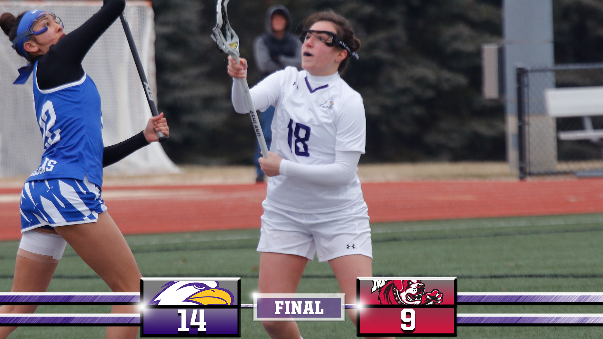 Eagles Win First GLIAC Game At Maryville, 14-9