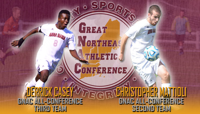Mattioli, Casey named to GNAC All-Conference Teams