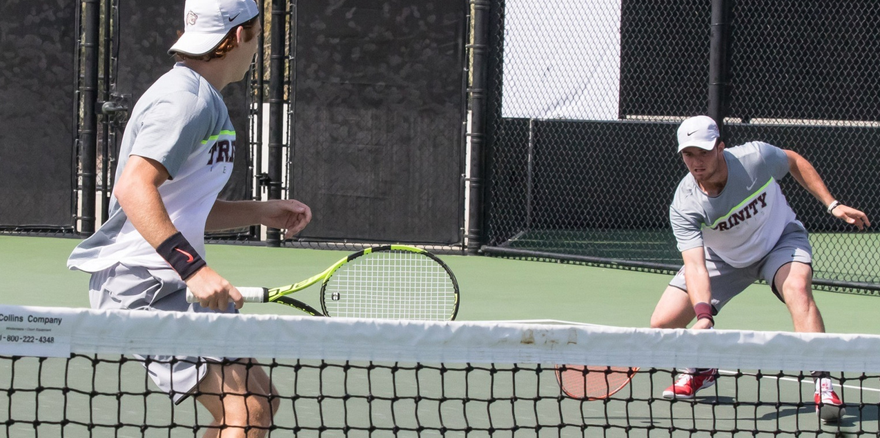 Trinity Men's Tennis Falls to No. 3 Claremont-Mudd-Scripps