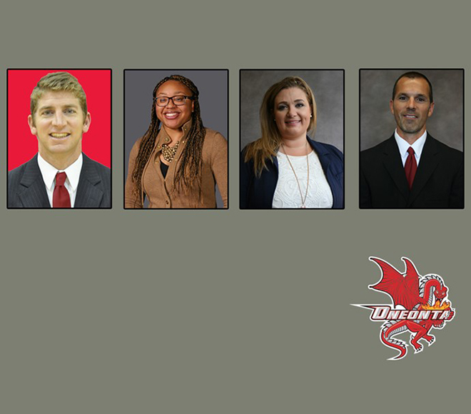 Oneonta's athletics department team completed to begin 2017-18