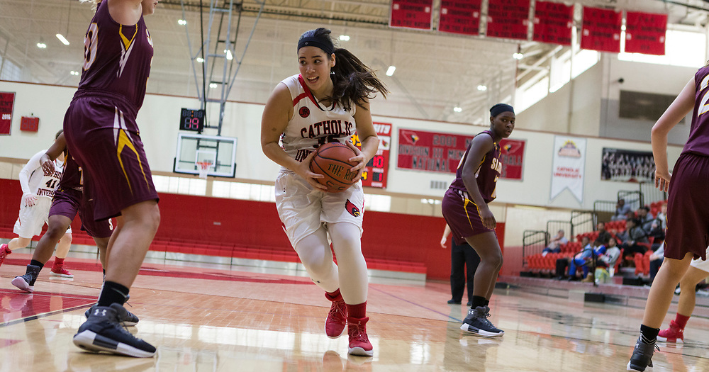 Cardinals Post Convincing 72-44 Victory Over St. Mary's (Md.)