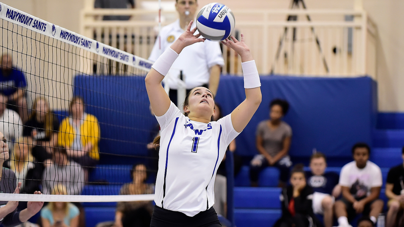 Women's Volleyball Secures Second Three-Set Sweep Of Season, Defeats Bullets