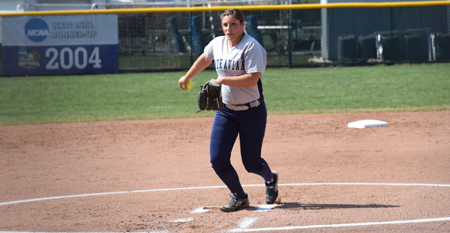 Novak Sets Single Game Strikeout Record as No. 19 Moravian Sweeps Eastern