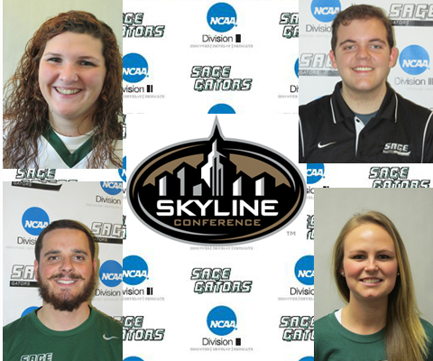 Four Gators placed on 2014 Spring Skyline All-Sportsmanship Team