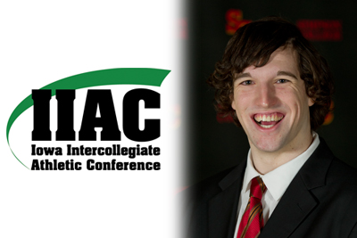 Hennings named IIAC Athlete of the Week