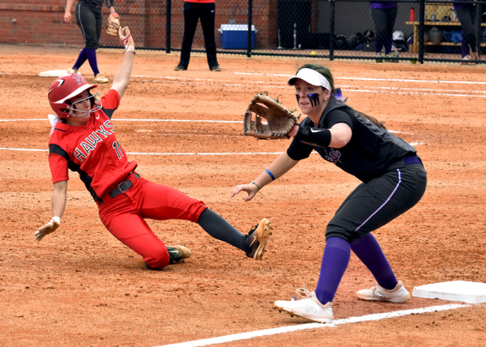 Rayne Ellis was 3-for-4 with a run in Game 1 against Millsaps on Tuesday.