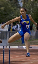 Barbara Nwaba Breaks UCSB Heptathlon Record