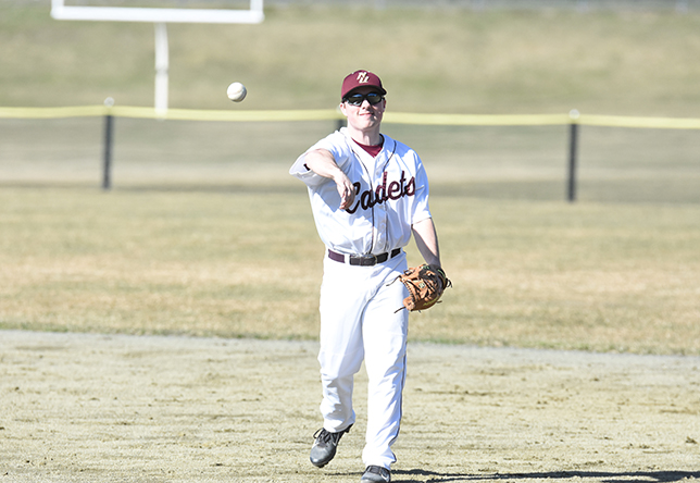 Baseball: Cadets Collect First Win in Twinbill Split