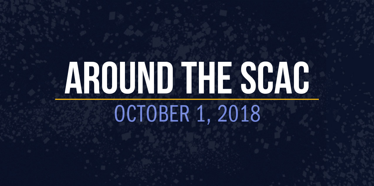 Around the SCAC - October 1