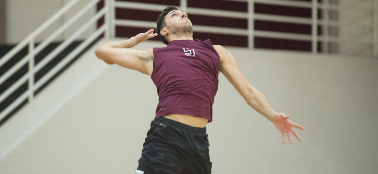 Top-Ranked Men's Volleyball Bests No. 6 NYU and Mt. St. Vincent