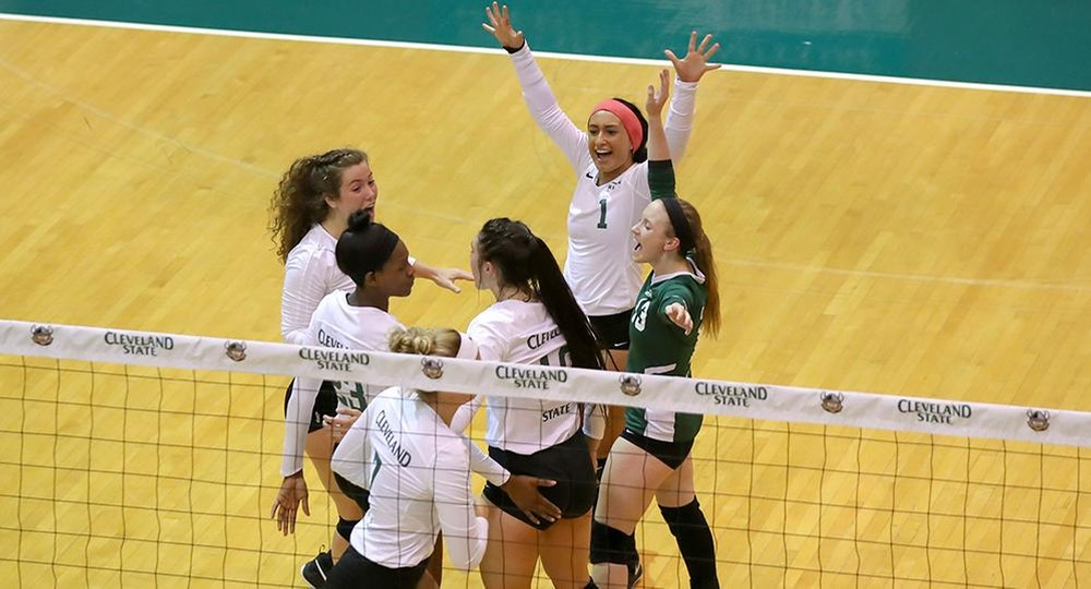 Vikings Sweep IUPUI To Remain Perfect In #HLVB Play