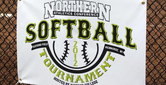 Softball eliminated from NAC Tournament
