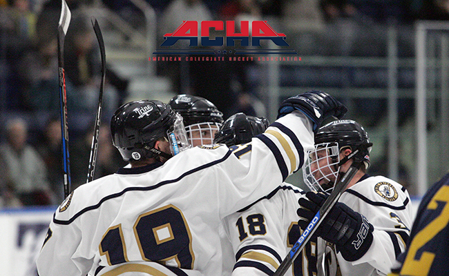ACHA D2 First in Central Region