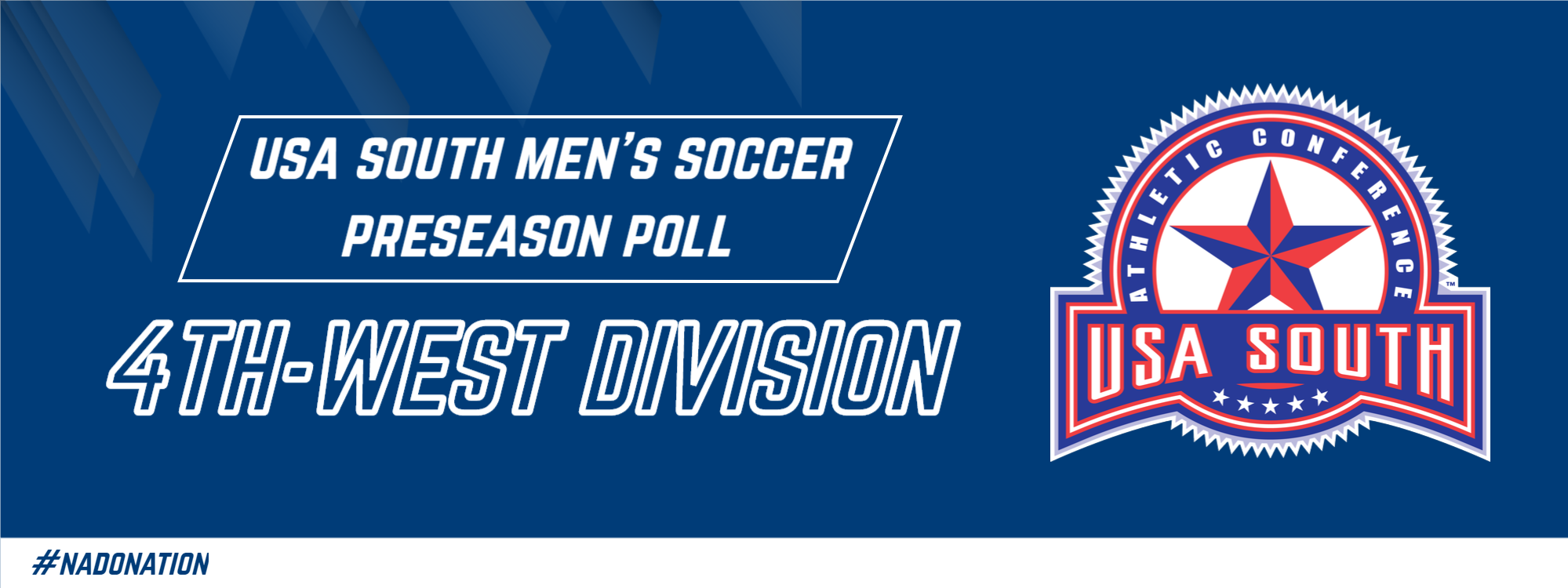 Season Preview: USA South Releases Preseason Polls; BC Men's Soccer Picked Fourth in West Division
