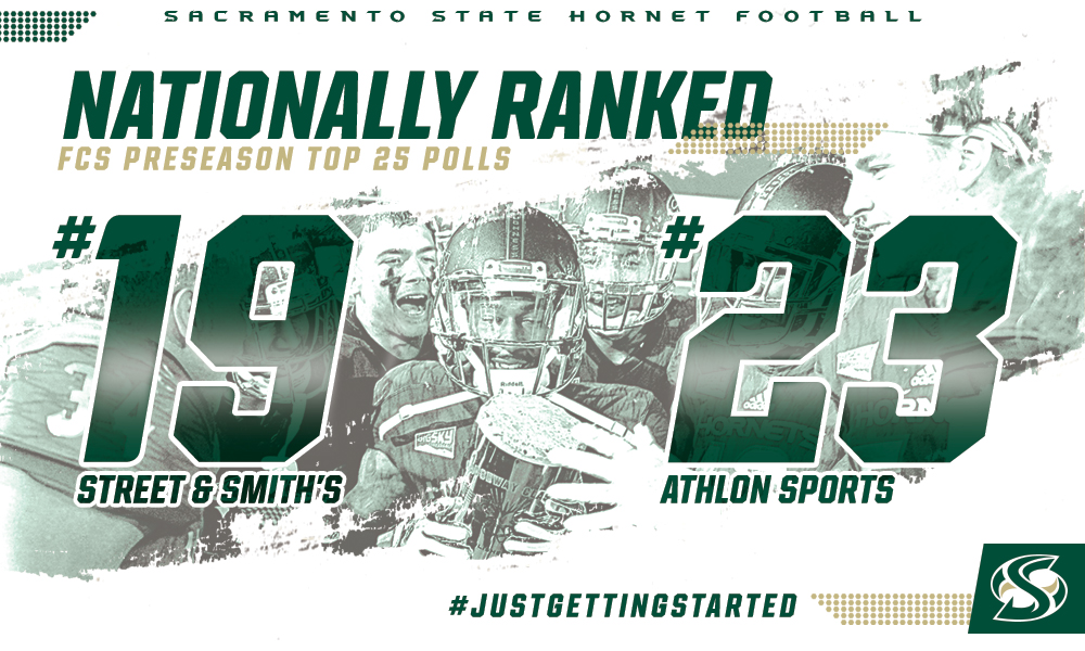 FOOTBALL RANKED IN TWO PRESEASON POLLS; 19TH IN STREET & SMITH'S, 23RD IN ATHLON SPORTS