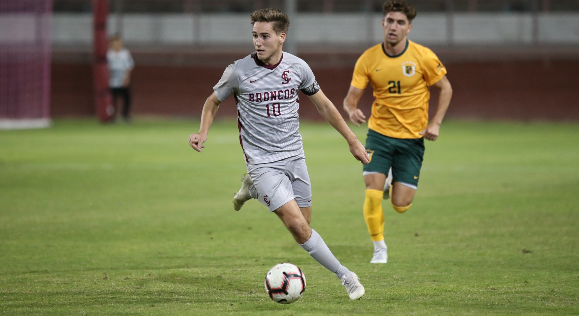 Men's Soccer Shuts Out San Francisco 1-0 on Wednesday Night