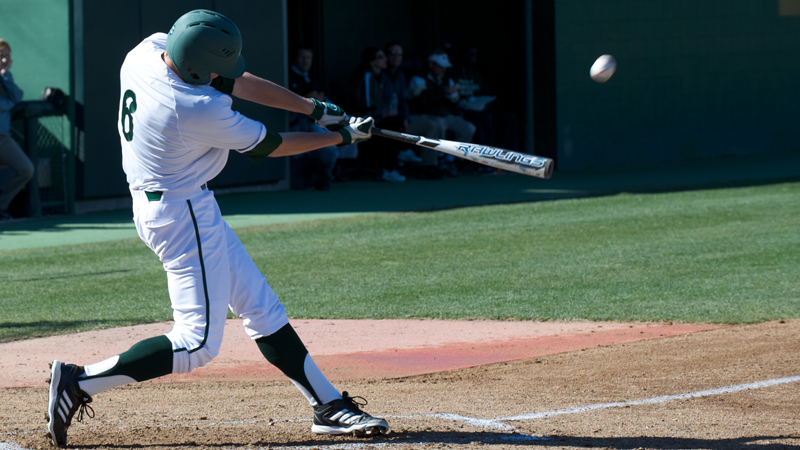 LEWIS, HIGLEY, POWER BASEBALL TO 7-5 WIN OVER TEXAS STATE
