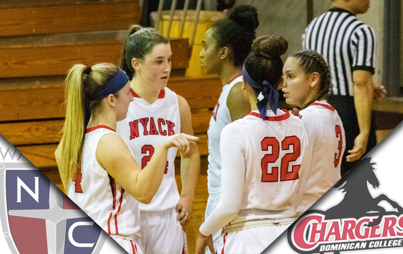 Women's Basketball Falls to Dominican Chargers at Home