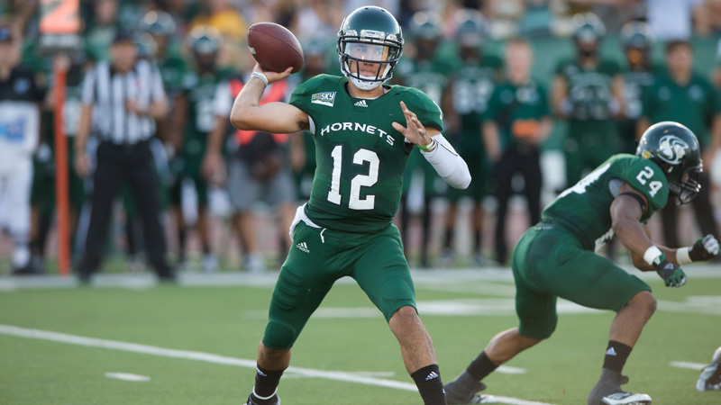 Football Can't Overcome Miscues in 34-17 Causeway Classic Loss