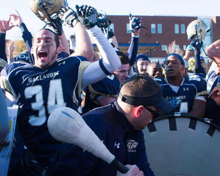 Gallaudet football ranked in AFCA Division III coaches' poll for first time in school history at No. 25