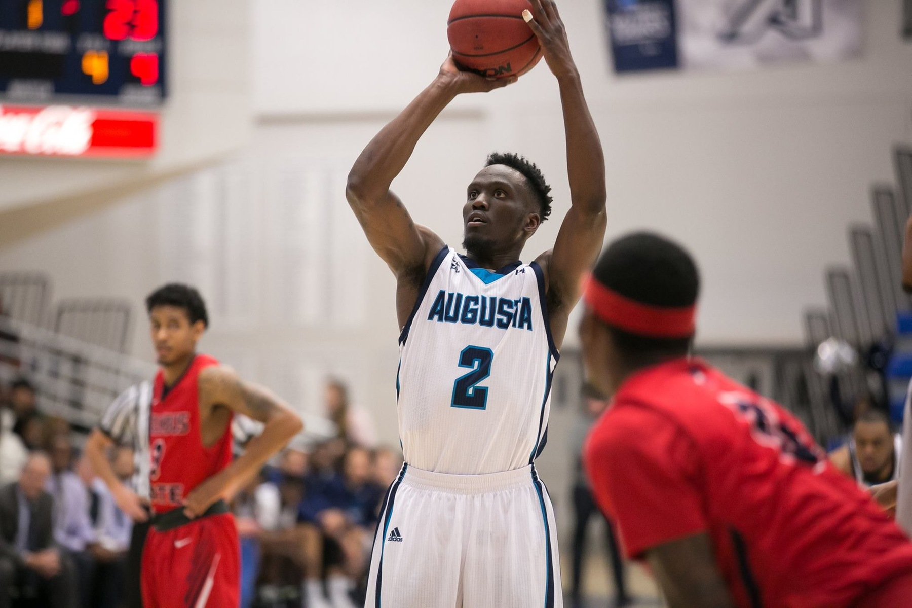 Augusta Falls To Francis Marion In Double OT, 106-104, On Inaugural Jaguars United Night