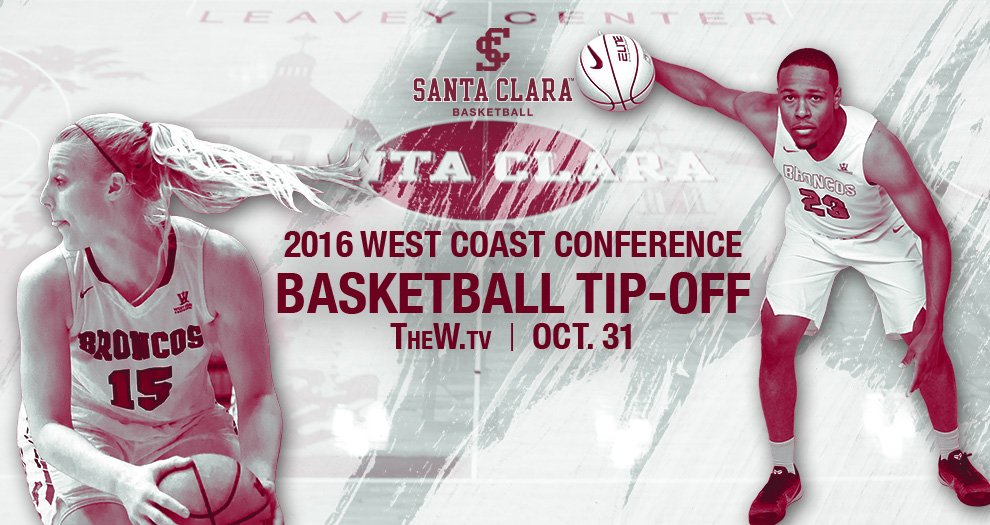 Men's and Women's Basketball to be Featured at Monday's WCC Basketball Tipoff