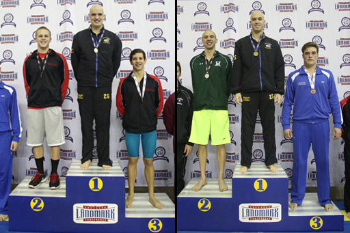 M. Richter, Davis Earn Landmark Titles for Goucher