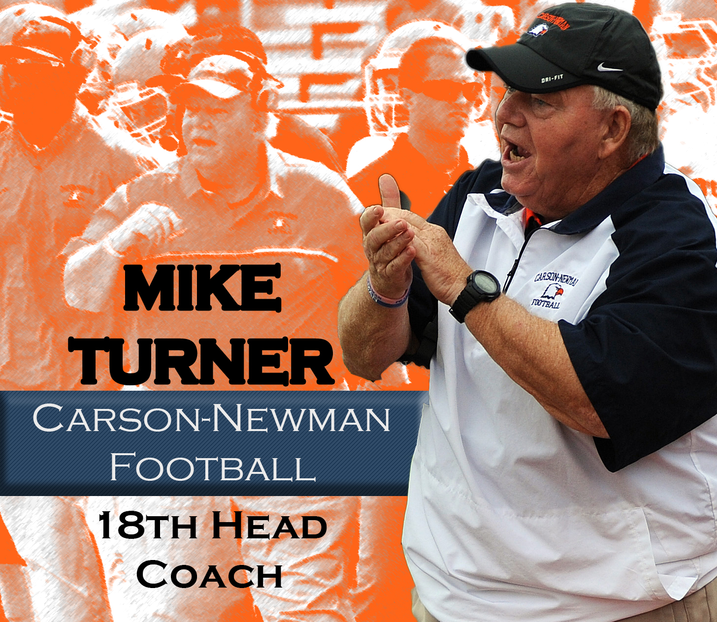 Turner tabbed as Carson-Newman football's 18th head coach