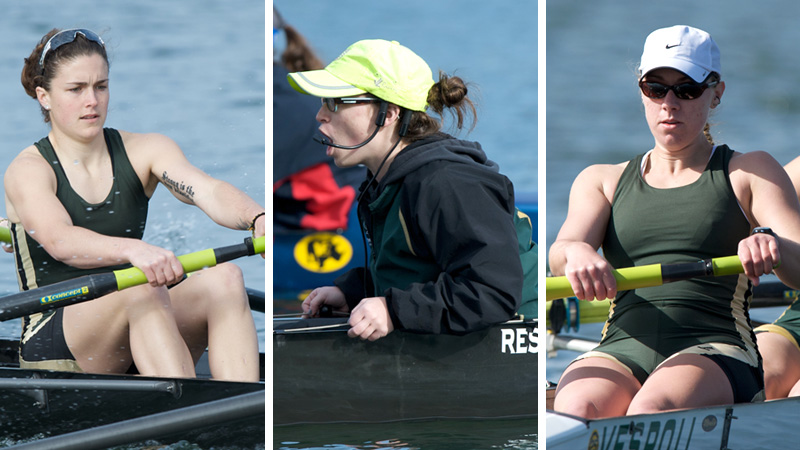 AIROLDI, BRENNAN AND CARLSON RECEIVE CRCA SCHOLAR-ATHLETE HONORS