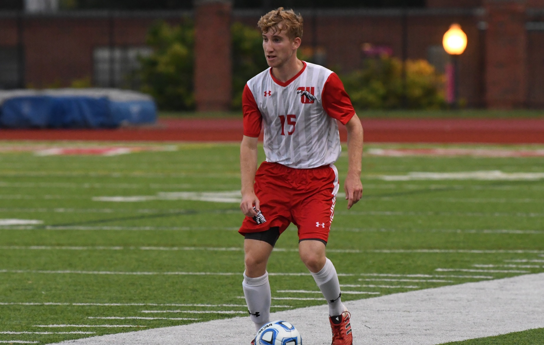 Junior Jack Smith bolstered a strong defensive effort in Wittenberg's narrow 1-0 loss against No. 5 Calvin