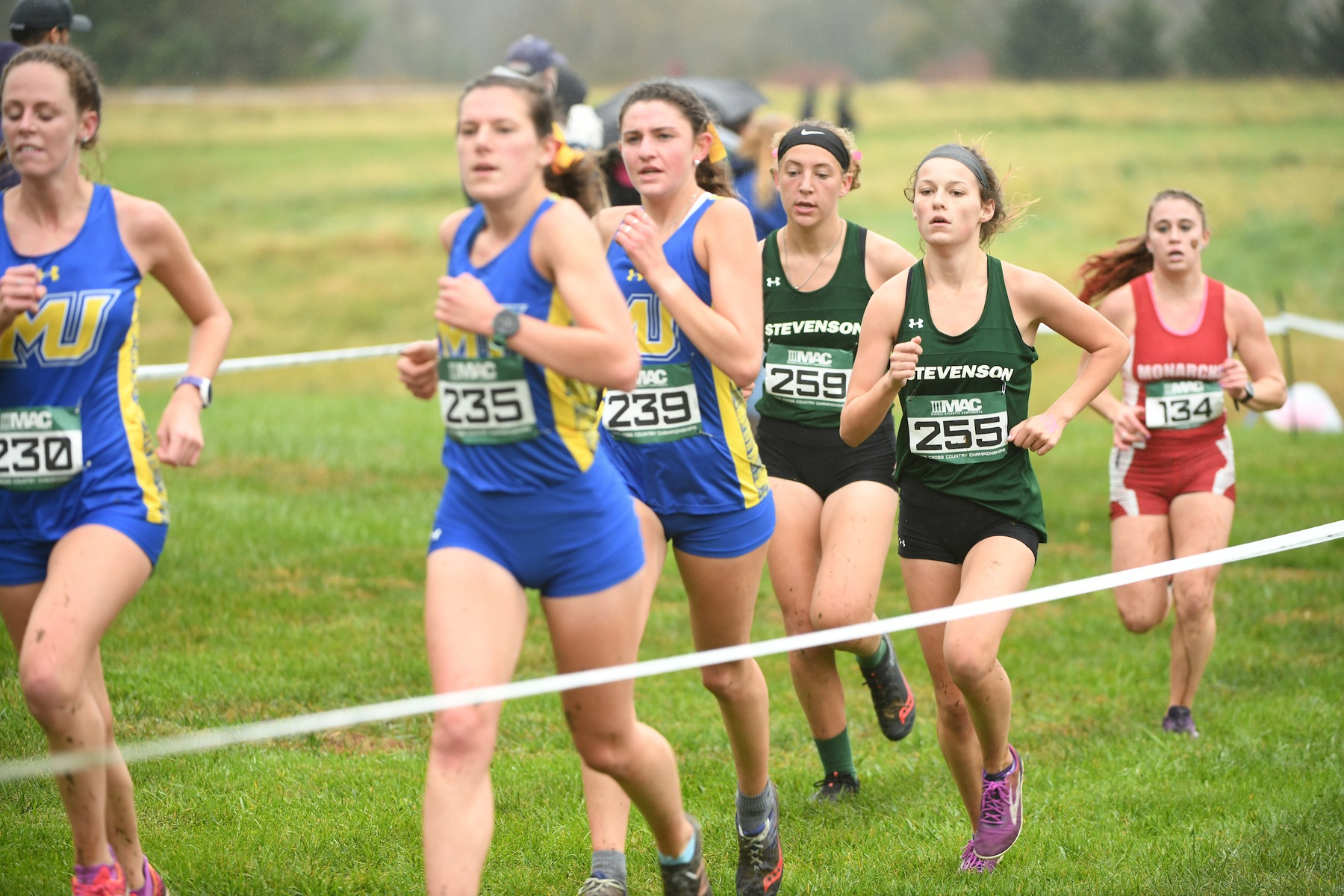 Gates Wins First Career Race, Mustangs Take Shannon Henretty Invite