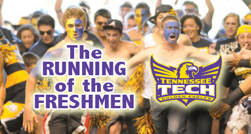 Running of the Freshmen: Brand new tradition begins at season opener